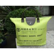 600D单色牛津布购物袋折叠环保购物袋