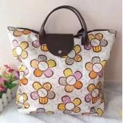定制色丁布花色折叠购物袋牛津布袋环保购物袋