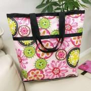 新款5分格购物袋可折叠