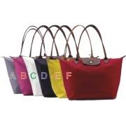 新款饺子包纯色购物袋