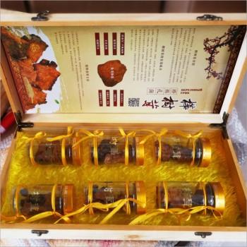 桦树茸礼盒6瓶装 桦褐孔菌 桦树泪 会议营销评点礼品