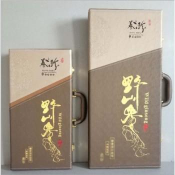 60cm皮盒人参 商务礼品
