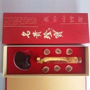 40珍宝鲜参鹿茸片灵芝三样组合