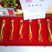 60cm6瓶装鲜参 长白山鲜人参礼盒