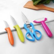厨房小工具 礼品套装水果刀不锈钢刀具 赠品定制logo 5件套