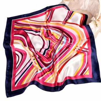 爆款时尚百搭50*50小方丝巾