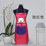 PVC单兜涂皮围裙(幸运熊)