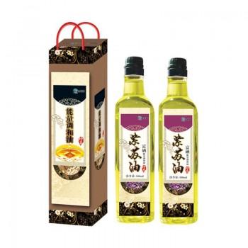 念医堂 发 紫苏油养生原生态低脂 食用调和油 浓香紫苏油