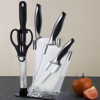 厂家 欧诺6件刀具套装 家用刀具套装 厨房 菜刀厨具 菜刀套装