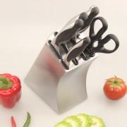 斯加特不锈钢厨具套刀 家用菜刀套装 七件套 厨房7件套装 套刀