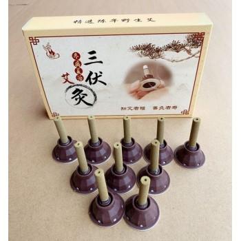 三伏艾灸10柱/盒