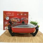 多功能电热锅 四方锅