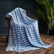 蓝之羽 多用冰岛暖绒毯-维克多