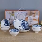 陶瓷餐具8件套可定制LOGO