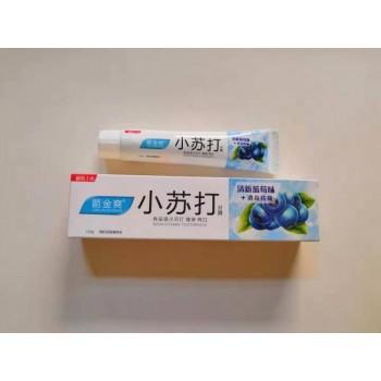 小苏打牙膏 110g 蓝莓味/营养维C味