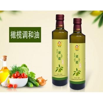 高端橄榄调和油 玻璃瓶装 500ml