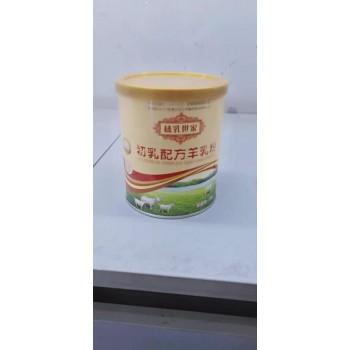 榛乳世家初乳配方羊乳粉120克裸罐营养粉