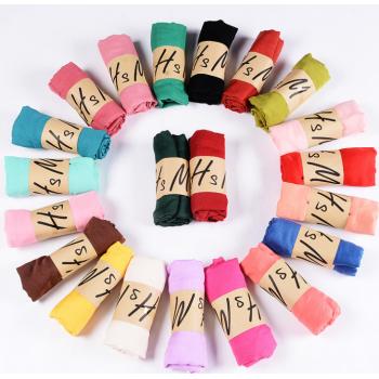 棉麻围巾50*180cm 丝巾 纱巾(包邮)