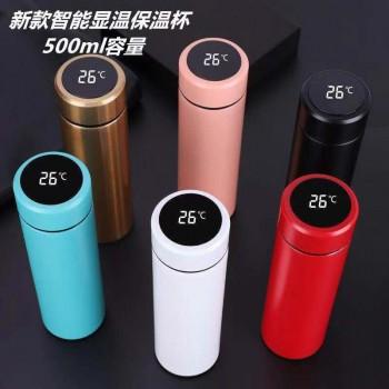 智能温度杯500ml(真空杯)可订制LOGO