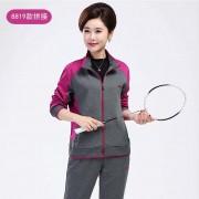 中老年女士运动衣套装两件套