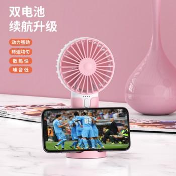 迷你usb桌面小风扇随身便携式家用静音可做手机支架风扇