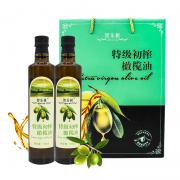 智乐树橄榄油礼盒 500ml*2