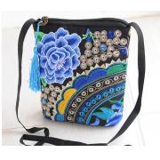 刺绣民族风女士手提包 钱包(包邮)