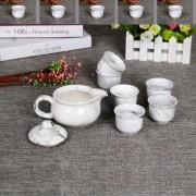 大理石纹茶具7头套装