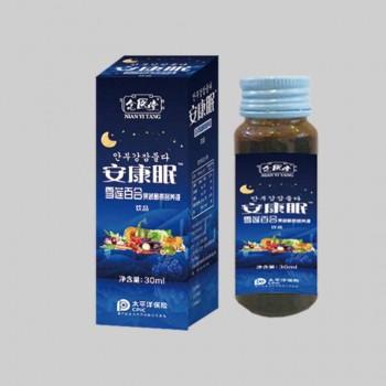 安康眠雪莲百合果蔬酵素营养液