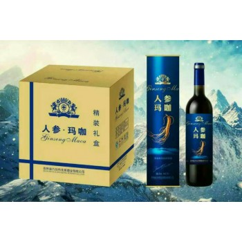 玛咖酒精装礼盒装一箱12瓶