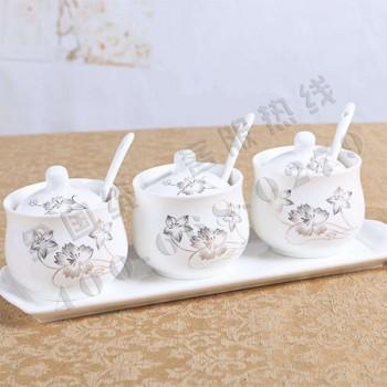 陶瓷调味罐组合装