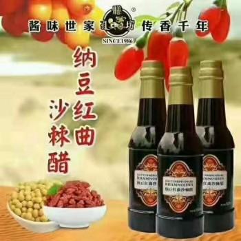 孔粮坊 纳豆沙棘红曲醋 500ml