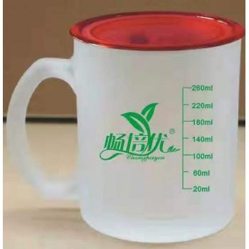 带刻度喝羊奶专用杯 可订制LOGO