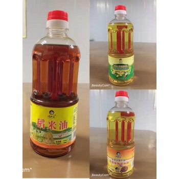 750ml 山茶油、亚麻籽油、纯稻米油