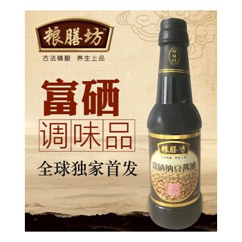 富硒纳豆酱油500ml